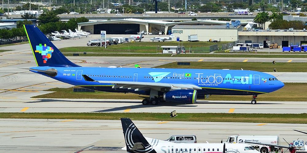 Azul top 10 airlines - par avion