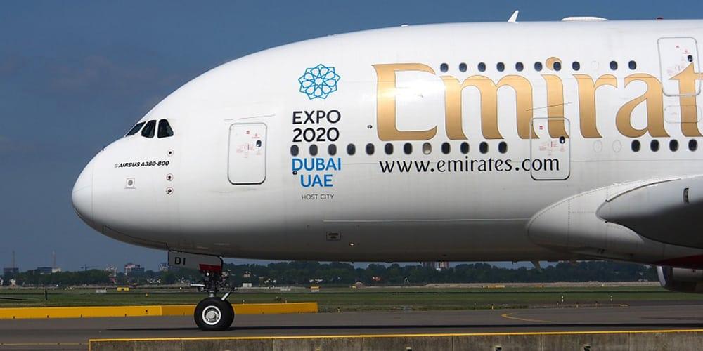 Emirates top 10 airlines - par avion