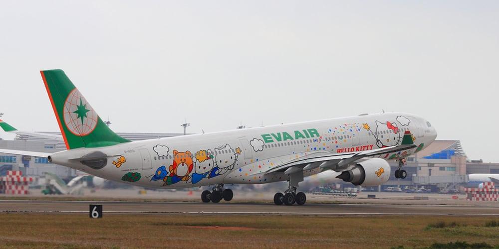 Eva air top 10 airlines - par avion